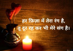 shayari on love in hindi language