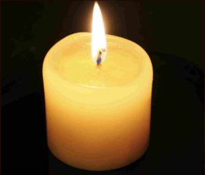 candle light whatsapp dp image
